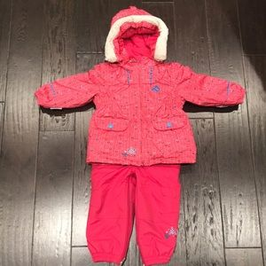 Perfect condition Jupa girls 2 pc snowsuit